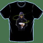 camisetas negra