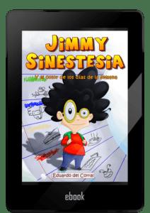 Portada ebooks Jimmy Sinestesia