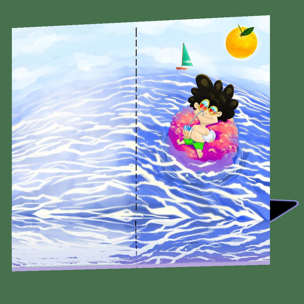 ilustración a doble página
